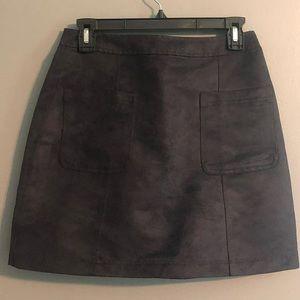 Gray Old Navy Skirt